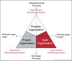 Organisation 3.0: Prozess-, Projekt- und Agile Organisation im Einklang